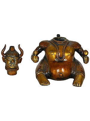 Tantric Incense Burner - Tibetan Buddhist