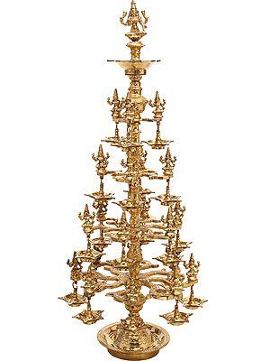 Large Size Goddess Lakshmi Lamp