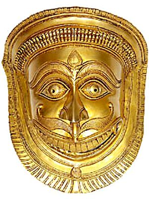 Shani-Mask (An Auspicious Symbol Guarding the House)