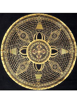 Vishwa-Vajra Mandala- Tibetan Buddhist