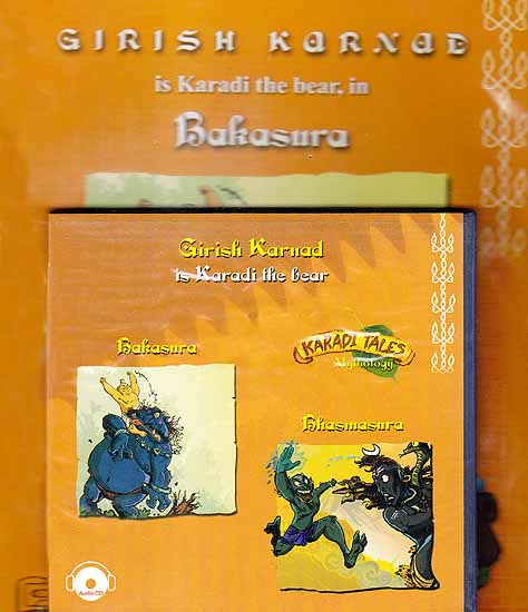 Bakasura, Bhasmasura (Karadi Tales Mythology) (Audio CD with Two Booklets): Audiobook for Children