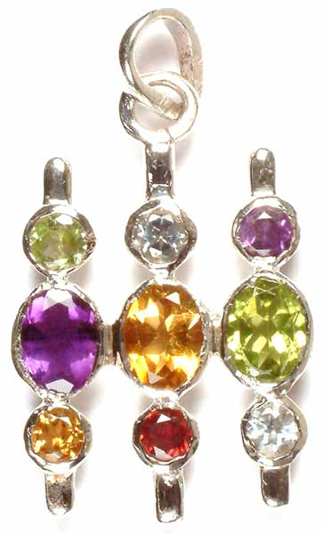 Fine Cut Gemstone Pendant
