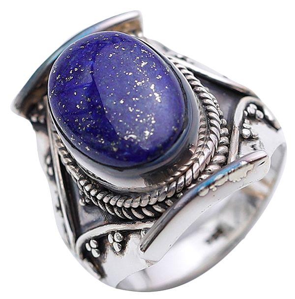 Lapis Lazuli Finger Ring