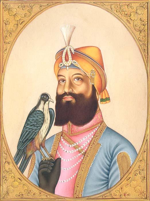 Guru Gobind Singh, The Tenth Sikh Guru. (11th November, 1675 – 7th October, 1708)